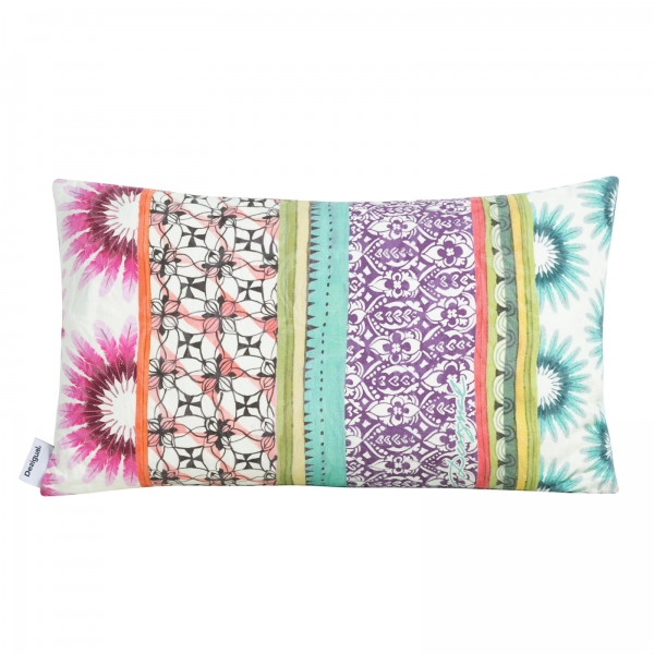 Coussin rectangulaire - DESIGUAL - STRIPES BOTANICAL