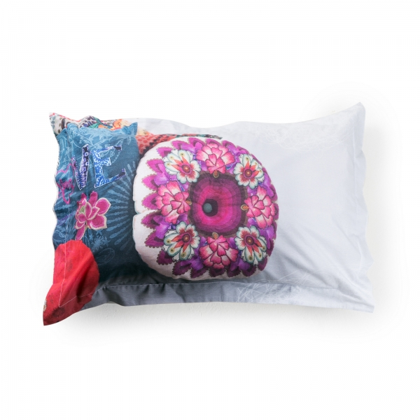 Taie d'oreiller rectangulaire - DESIGUAL - MESSY BED RIGHT