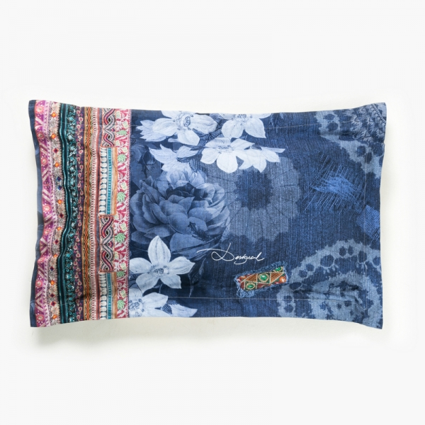 Taie d'oreiller rectangulaire - DESIGUAL - EXOTIC JEANS
