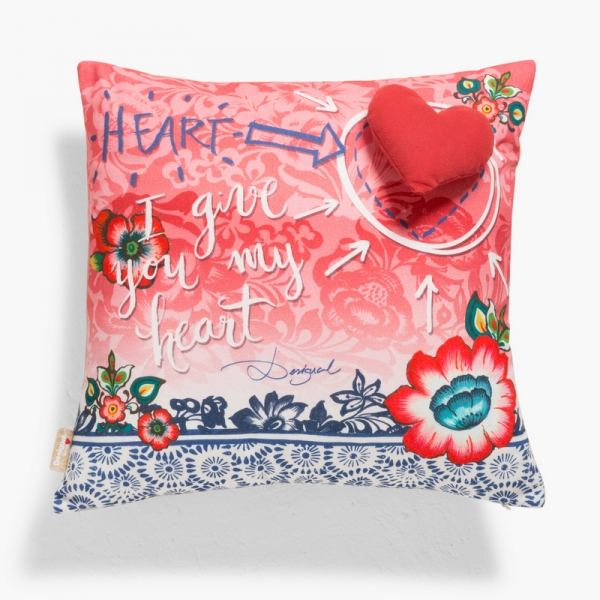 Coussin carré - DESIGUAL - SPECIAL DAY