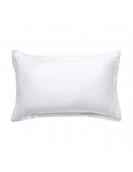 Taie d'oreiller rectangulaire Satin de coton ELBA - UP TO YU