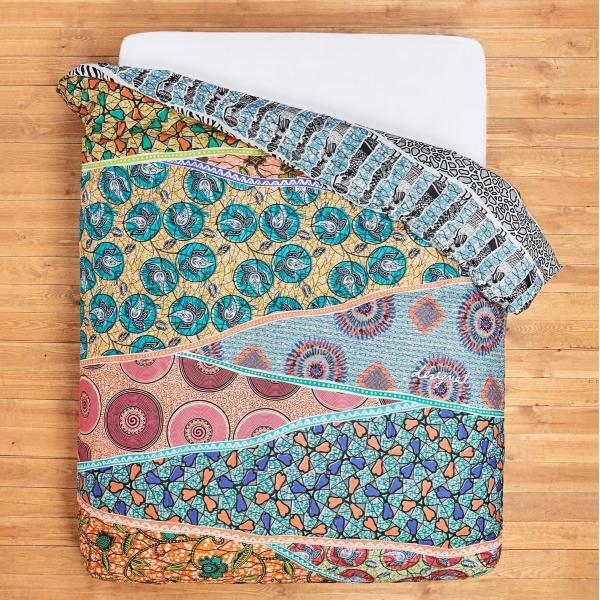 Housse de couette c design home textile - Housse de couette tartan ...