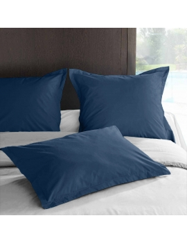 Taie d'oreiller PERCALE Ensign Blue
