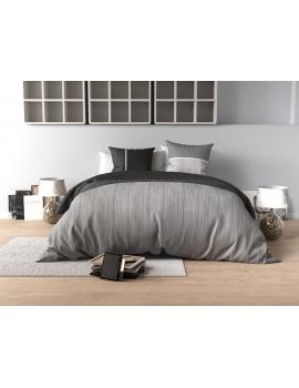 Parure de lit Percale B&W