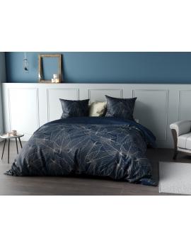 Parure de lit Percale Cohiba Bleu