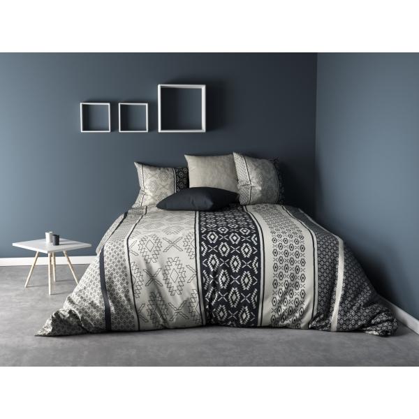 Parure de lit Ethnora gris